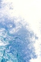 energetic face multiple water wave