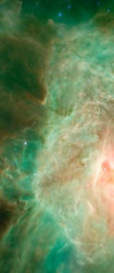 Orion nebula face & form multiple 2
