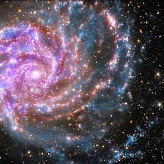 Ursa [huge] galaxy face multiple light flip & rotate