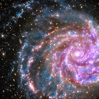 Ursa [huge] galaxy face multiple light flip