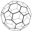 graphic of each angle with truncated icosahedral form