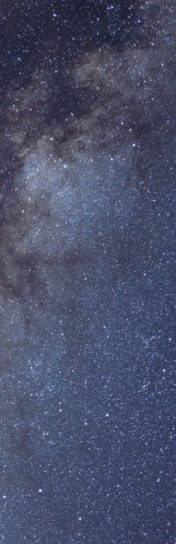 Milky Way galaxy face & form multiple flip