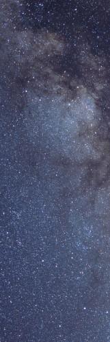 Milky Way galaxy face & form multiple