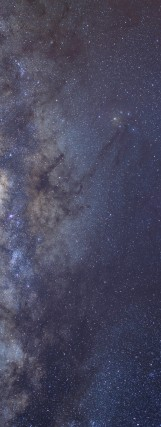 Milky Way galaxy face & form multiple 2 flip