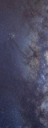 Milky Way galaxy face & form multiple 2