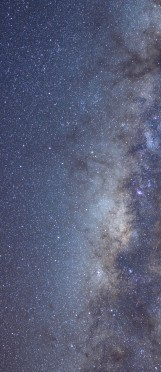 Milky Way galaxy face & form multiple 3