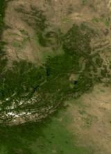 North America land mass face multiple flip