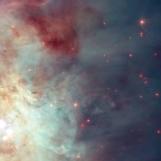 Orion nebula face & form multiple flip rotate