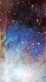 Orion nebula face & form multiple 3 light flip