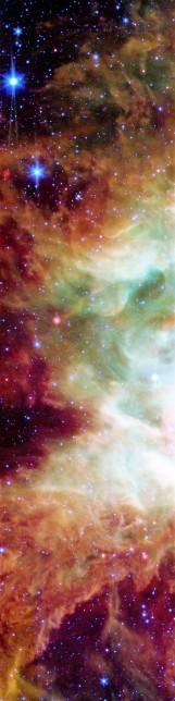 "Monoceros ""star group"" face & form multiple light rotate"